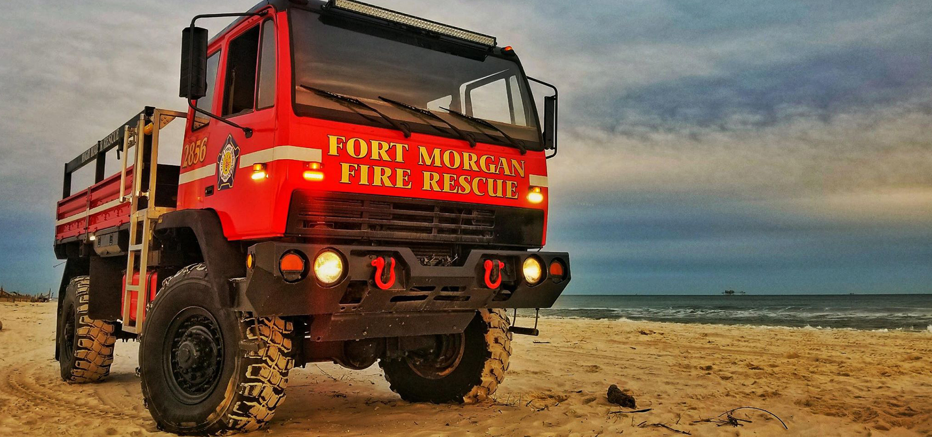 Fort Morgan Fire Rescue Truck